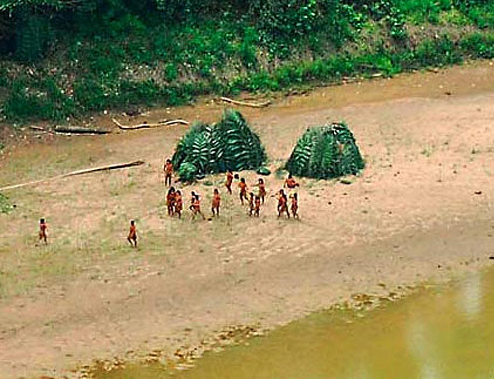 Uncontacted Tribes Las Piedras Frankfurt Zoological Society